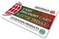 Deepings Cash Discount Card